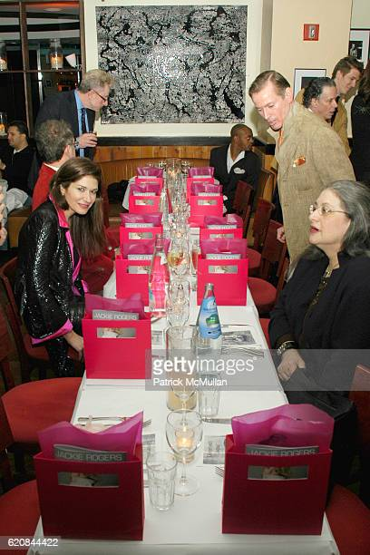 Atmosphere at An Intimate Evening of Food Fashion and Gossip with the Inimitable Jackie Rogers at Jour et Nuit on March 26 2007 in New York City