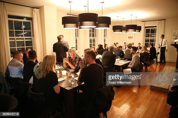 Atmosphere at an Intimate Supper For Vivienne Westwood Andreas Kronthaler hosted by Jennifer Howell And Kelly Osbourne at The Art of Elysium Center...