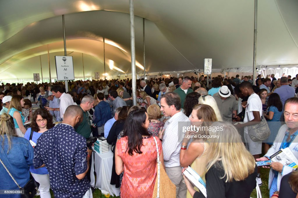 Atmosphere at Authors Night 2017 At The East Hampton Library at The East Hampton Library on August 12, 2017 in East Hampton, New York.