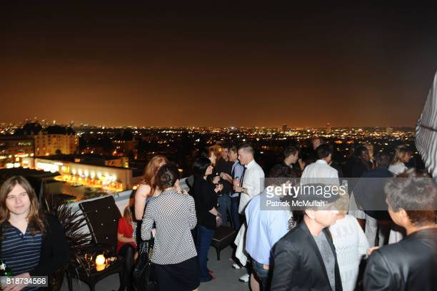 Atmosphere at Bret Easton Ellis to celebrate the publication of his new novel IMPERIAL BEDROOMS at Penthouse on June 10 2010 in Chateau Marmont...