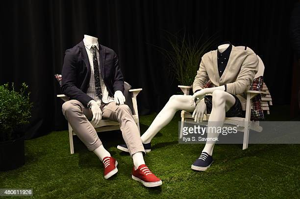 Atmosphere at Brooks Brothers Presentation during New York Fashion Week Men's S/S 2016 at Brooks Brothers on July 13 2015 in New York City