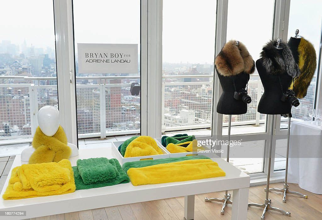 Atmosphere at Bryan Boy For Adrienne Landau Presentation - Fall 2013 Mercedes-Benz Fashion Week at Mondrian SoHo on February 5, 2013 in New York City.