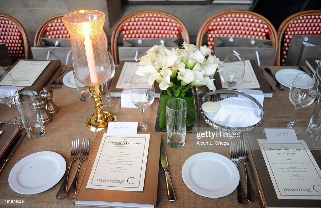 Atmosphere at C Magazine Dinner And Reception Celebrating Leland Orser's 'Morning' held at Chateau Marmont on September 26, 2013 in West Hollywood, California.