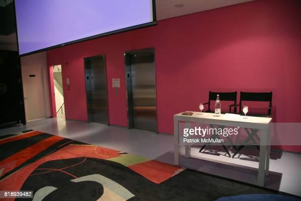 Atmosphere at CFDA biannual membership meeting at Diane von Furstenberg Studio on May 11 2010 in New York City