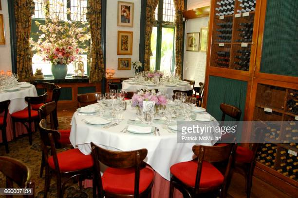 Atmosphere at CHANTELLE 60th ANNIVERSARY LUNCHEON at Le Grenouille on May 15 2009 in New York City