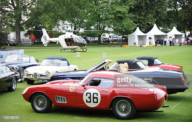 Atmosphere at Concours D'Elegance at The Hurlingham Club on July 29 2011 in London England