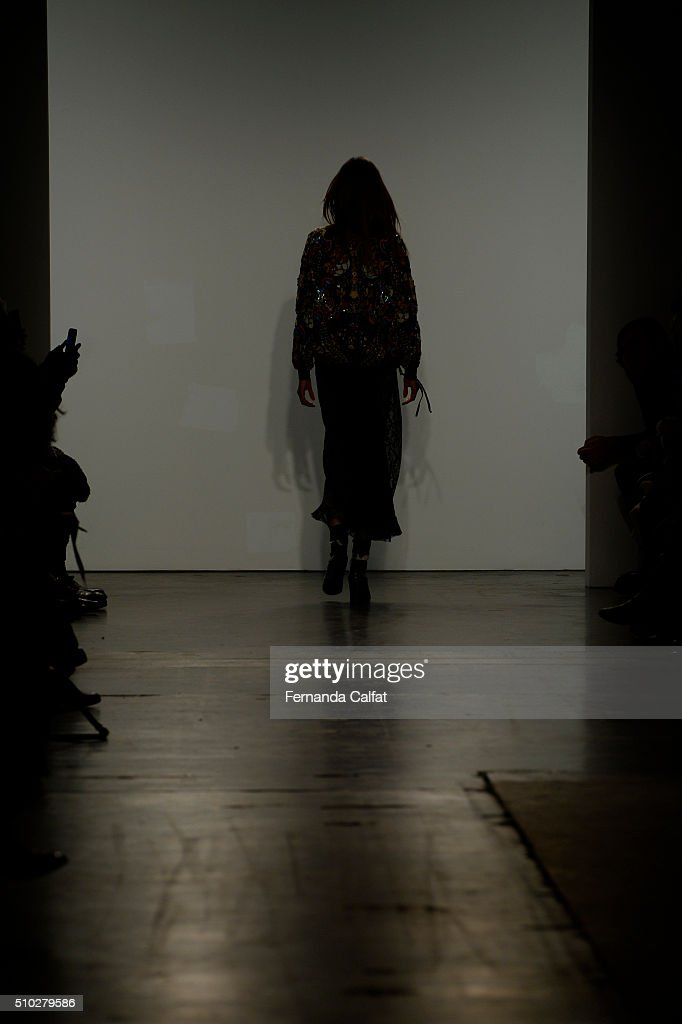 Atmosphere at Custo Barcelona Runway Fall 2016 at New York Fashion Week at Pier 59 Studios on February 14, 2016 in New York City.