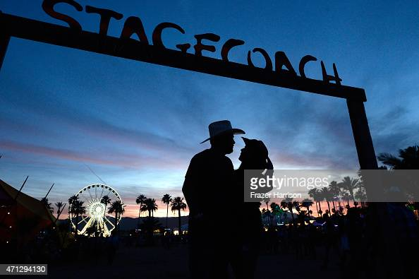 Atmosphere at day three of 2015 Stagecoach California's Country Music Festival at The Empire Polo Club on April 26 2015 in Indio California