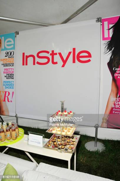 Atmosphere at Donna Karan Ariel Foxman InStyle Along With Kelly Ripa Ashley Greene Present Super Saturday 13 at Nova's Ark Project on July 31 2010 in...