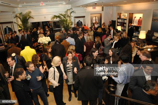 Atmosphere at FACONNABLE VANITY FAIR Shopping Night for the Christopher Reeve Dana Reeve Foundation at Faconnable Store on October 27 2009 in New...