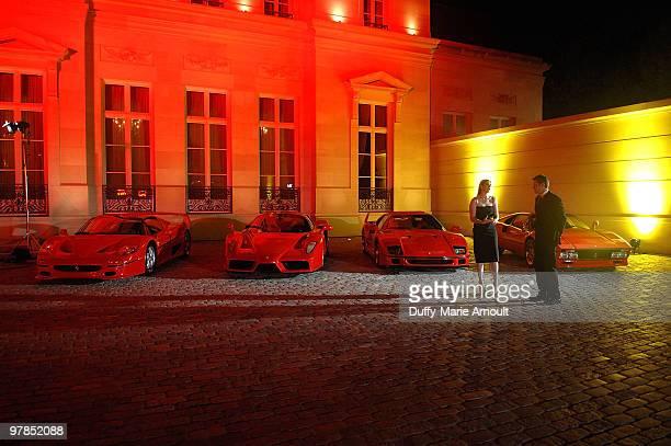 Atmosphere at Ferrari 458 Italia Brings Funds for Haiti Relief at Fleur de Lys on March 18 2010 in Los Angeles California