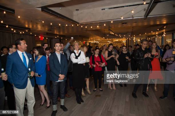 Atmosphere at Gotham Magazine's Celebration of it's Late Spring Issue with Noah Syndergaard at 1 Hotel Brooklyn Bridge on May 22 2017 in Brooklyn New...
