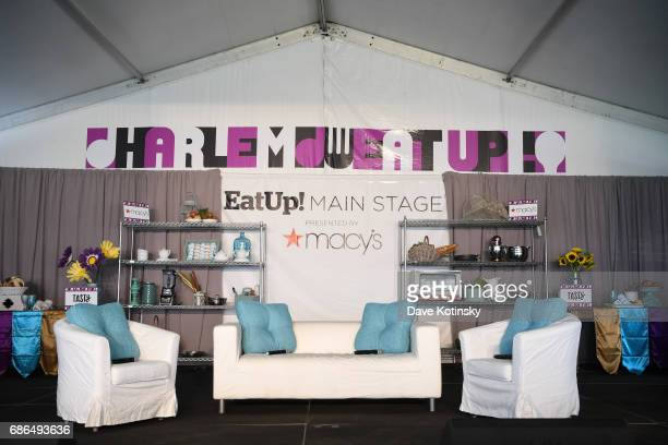 Atmosphere at Harlem EatUp's Third Annual Festival Weekend on May 21 2017 in New York City