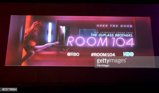 Atmosphere at HBO 'Room 104' Premiere at Hollywood Forever on July 27 2017 in Hollywood California