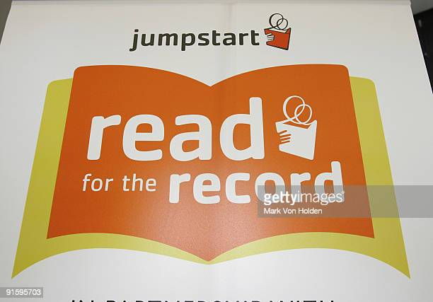 Atmosphere at Jump Start's 'Read for the Record' event held at Brooklyn Public Library's Central Library on October 8 2009 in the Brooklyn borough of...