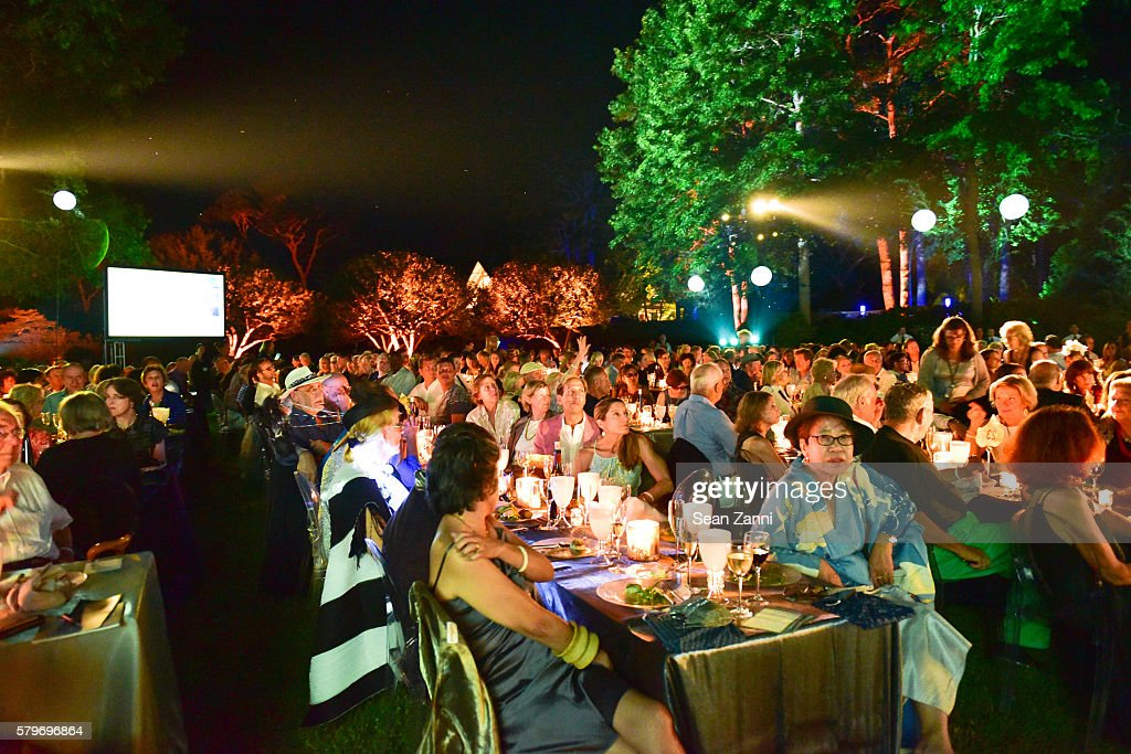 Atmosphere at LongHouse Reserve 2016 Jubilee Year Summer Benefit, Serious Moonlight at LongHouse Reserve on July 23, 2016 in East Hampton, NY.