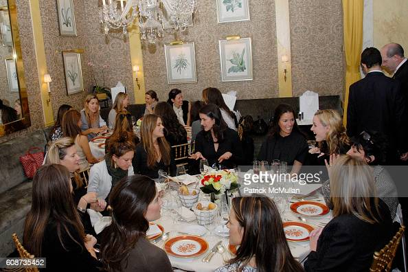 Atmosphere at MARIA HATZISTEFANIS presents GLAMOTOX at a glamorous upper east side luncheon at The Carlyle on December 3 2007 in New York City
