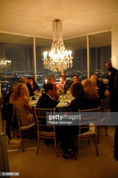 Atmosphere at Mayor Antonio Villaraigosa celebrates Nikki Haskell's Birthday at Sierra Towers on May 17th 2010 in West Hollywood California