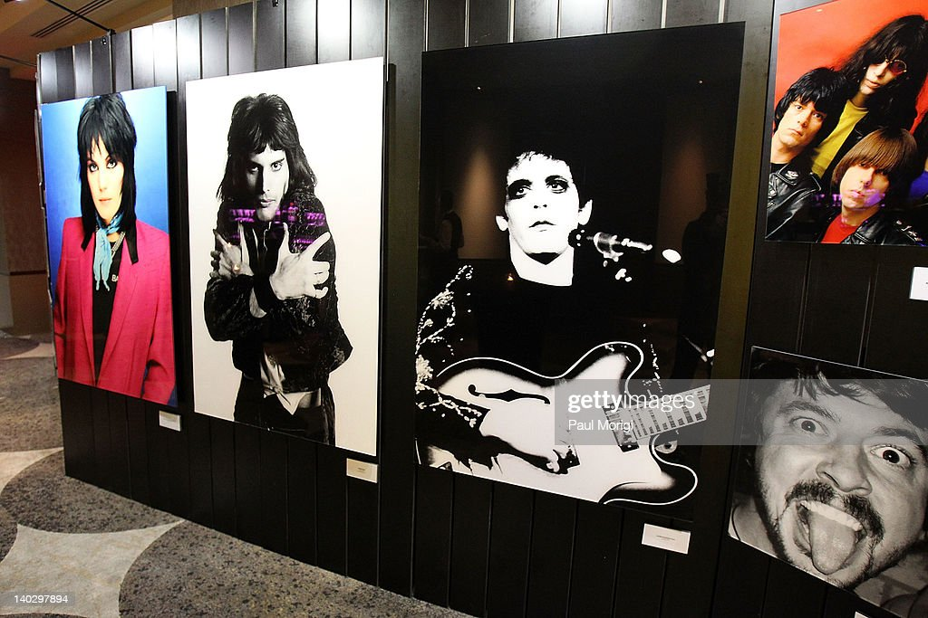 Atmosphere at Mick Rock's Photography exhibit at the W Washington D.C. on March 1, 2012 in Washington, DC.