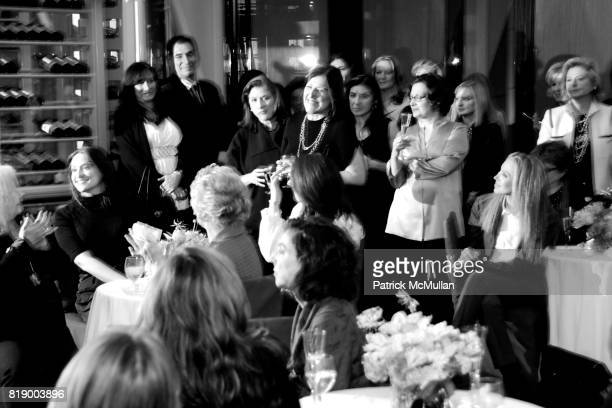 Atmosphere at MOMENTUM WOMEN Honor Gila GamlielDemri hosted by Ceslie Armstrong Phyllis Heideman Cynthia Ekberg Tsai at Le Cirque on March 2 2010 in...