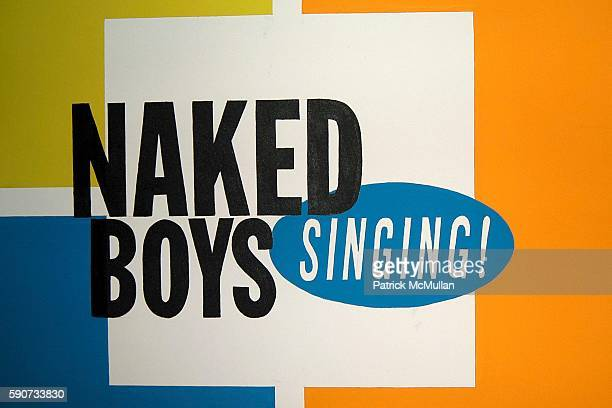 Atmosphere at Naked Boys Singing Celebrates Their Sixth Anniversary at Julia Miles Theater on July 22 2005 in New York City