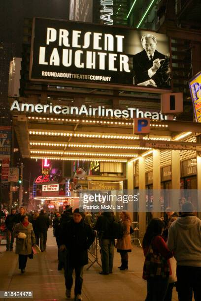 Atmosphere at Opening Night of Present Laughter at American Airlines Theater on January 21 2010 in New York City