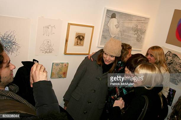 Atmosphere at PAPERCUT Inaugural Exhibition to Celebrate the Print Making Process at Heist Gallery on December 13 2008 in New York City
