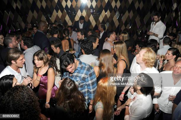 Atmosphere at Party at WALL Hosted by VITO SCHNABEL STAVROS NIARCHOS ALEX DELLAL at WALL at the W SOUTH BEACH on December 3 2009 in Miami Beach...