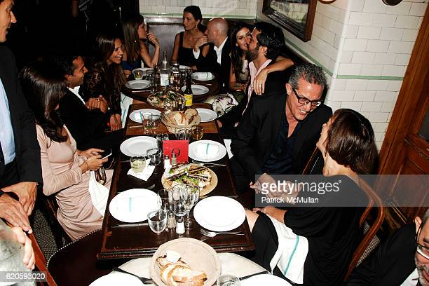 Atmosphere at Private Dinner hosted by CARLOS JEREISSATI CEO of IGUATEMI at Pastis on September 6 2008 in New York City