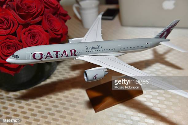 Atmosphere at Qatar Airways Atlanta Press Conference at St Regis Atlanta Hotel on May 17 2016 in Atlanta Georgia