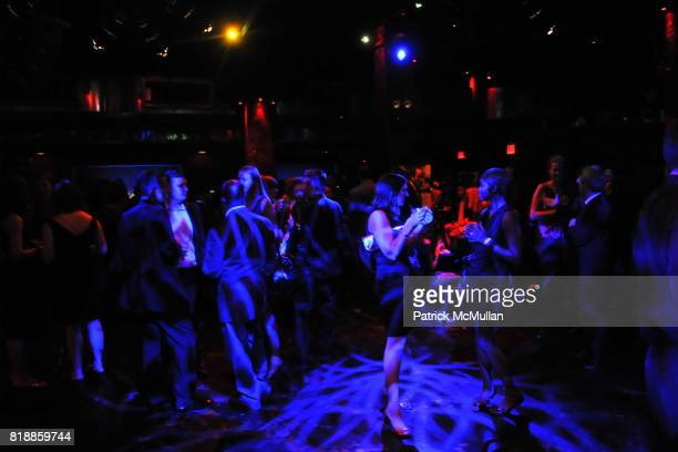 Atmosphere at RAINFOREST ACTION NETWORK's 25th Anniversary Benefit Hosted by CHRIS NOTH at Le Poisson Rouge on April 29 2010 in New York City