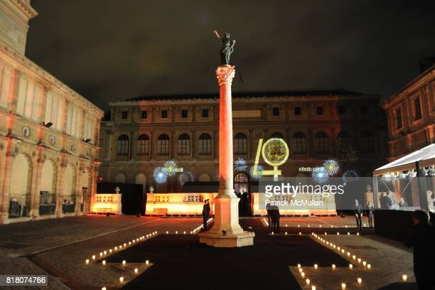 Atmosphere at ROBERTO CAVALLI 40th Anniversary Event CONTACT SIPA PRESS FOR SALES at Les BeauxArts de Paris on September 29 2010 in Paris France ***...