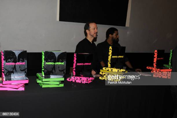 Atmosphere at ROGER PADILHA MAURICIO PADILHA Celebrate Their Rizzoli Publication THE STEPHEN SPROUSE BOOK Hosted by DEBBIE HARRY And TERI TOYE at...