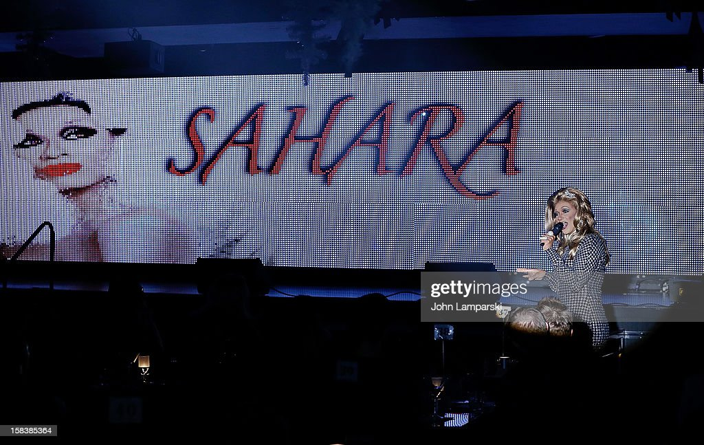 Atmosphere at Sahara Davenport Public Memorial Serviceat at the XL Nightclub on December 14, 2012 in New York City.