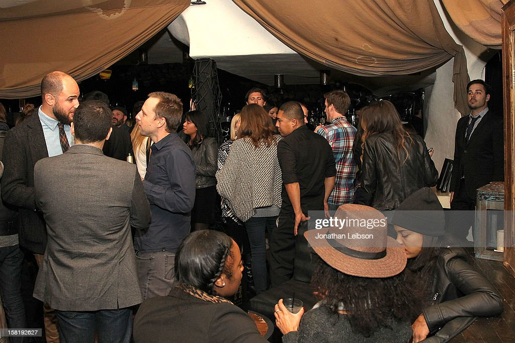 Atmosphere at 'Save the Date' Screening Hosted By genart And Brancott Estate Wines After Party at Hyde Lounge on December 10, 2012 in Los Angeles, California.