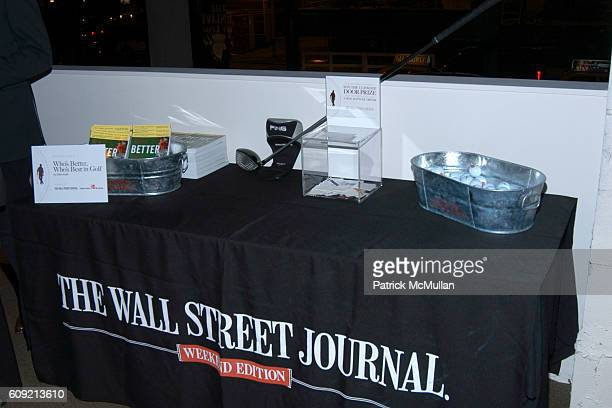 Atmosphere at SCOTCH WHISKY GOLF Hosted by The Wall Street Journal Paul Staurt at The Glenlivet City Links on February 9 2007 in New York City