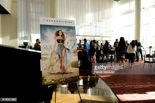 Atmosphere at Screenvision Hosts Sex and the City 2 Screening at ArcLight Cinemas on May 26 2010 in Sherman Oaks California
