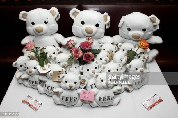 Atmosphere at Sharon Lauren Ashley Bush Host Luncheon in Celebration of the FEED Bears Sponsored by DIOR BEAUTY llanllyr SOURCE at The East Side...