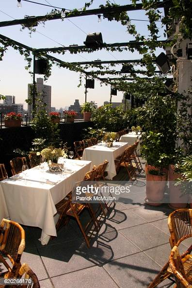 Atmosphere at Stephanie Seymour and Patrice Kretz Celebrate the Chantelle Ad Campaign at The Gramercy Park Hotel Private Roof Club and Garden on...