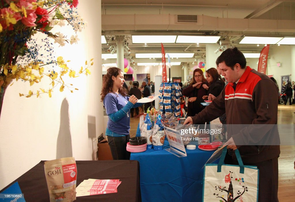 Atmosphere at the 14th Biggest Baby Shower Ever at the Metropolitan Pavilion on November 19, 2012 in New York City.