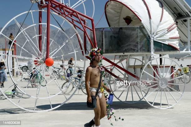 Atmosphere at the 2003 Burning Man festival Blackrock City Nevada USA Job 16054 Ref JHY