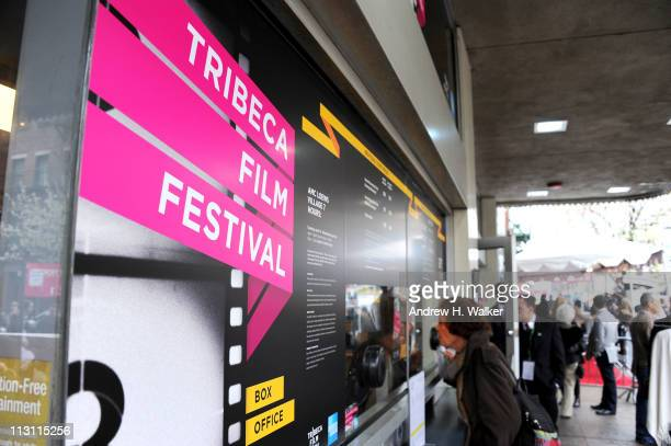 Atmosphere at the 2011 Tribeca Film Festival on April 23 2011 in New York City