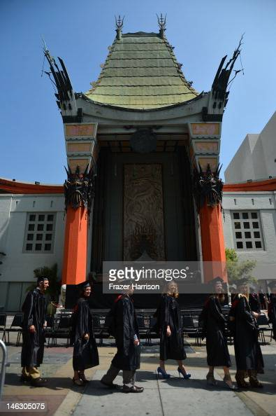 Atmosphere at the 2012 AFI Conservatory Commencement Ceremony at Grauman's Chinese Theatre on June 13 2012 in Hollywood California