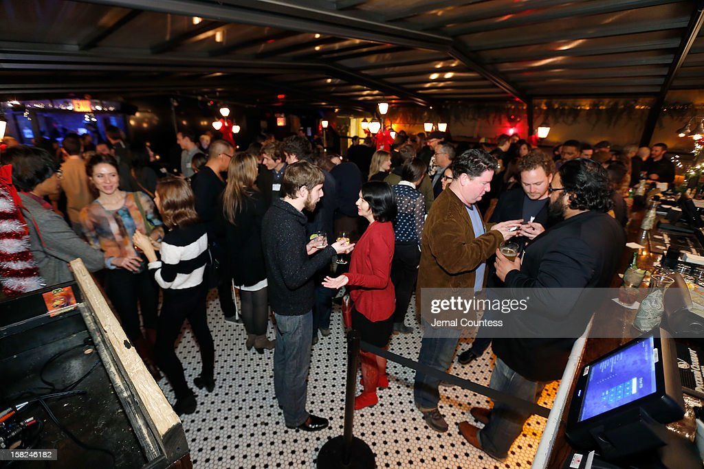 Atmosphere at the 2012 Sundance Film Festival Filmmaker Orientation at Hotel Chantelle on December 11, 2012 in New York City.
