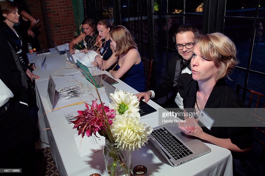 Atmosphere at the 2015 Mercado Global Fashion Forward Gala at The Bowery Hotel on October 14, 2015 in New York City.