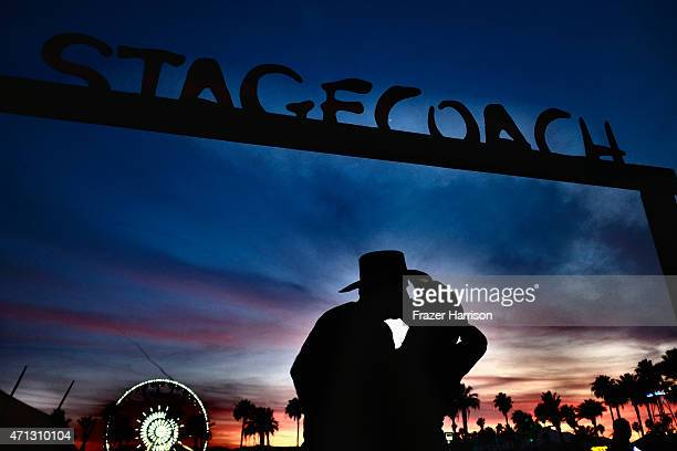 Atmosphere at The 2015 Stagecoach California's Country Music Festival at The Empire Polo Club on April 26 2015 in Indio California