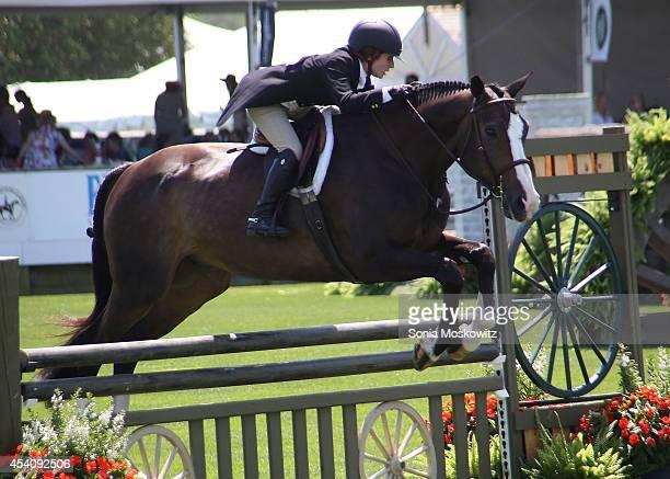 Atmosphere at the 39th Annual Hampton Classic Horse Showon August 24 2014 in Bridgehampton New York