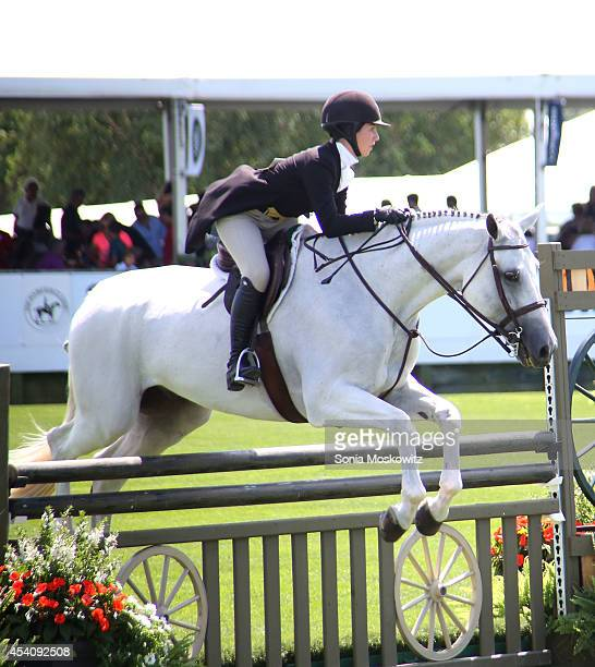 Atmosphere at the 39th Annual Hampton Classic Horse Showon August 24 2014 in Bridgehampton New York
