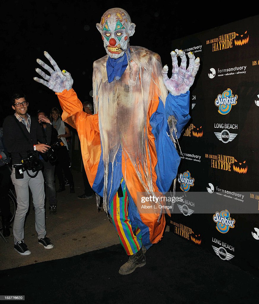 Atmosphere at the 4th Annual Los Angeles Haunted Hayride - 'The Congregation' - Arrivals held at Griffith Park on October 7, 2012 in Los Angeles, California.