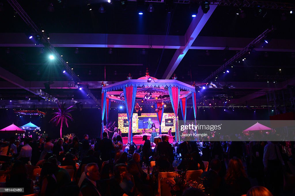 Atmosphere at the 55th Annual GRAMMY Awards after party at the Los Angeles Convention Center on February 10, 2013 in Los Angeles, California.